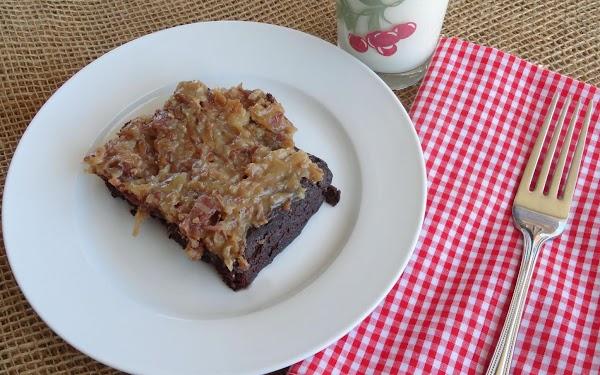 Light German Chocolate Cake Recipe