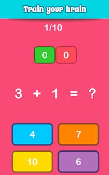 Math Games, Learn Add, Subtract, Multiply & Divide apk screenshot