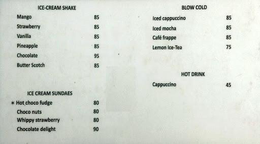 Baker's Lounge menu 7