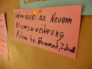 Photo: Impressionen von der Tutor_innenschulung