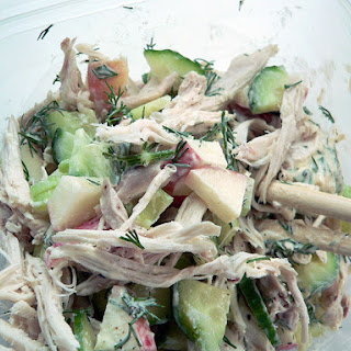 Roast Chicken Salad With Apple and Celery