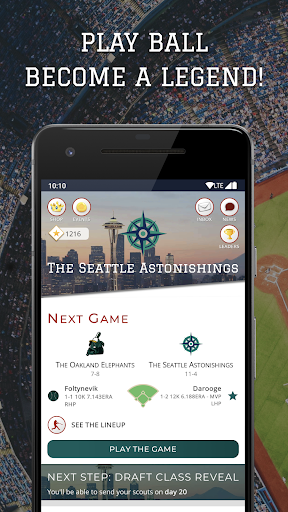 Astonishing Baseball Manager 20: capturas de pantalla del juego Simulator 1