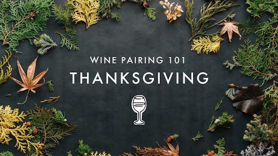 Thanksgiving Wine Pairing - Thanksgiving Template