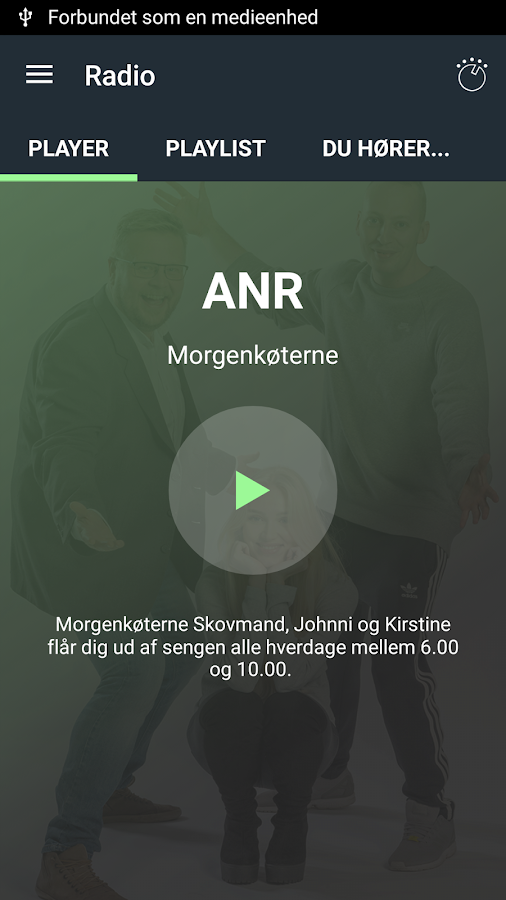 Radio ANR – screenshot
