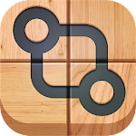 Connect it. Wood Puzzle Icon