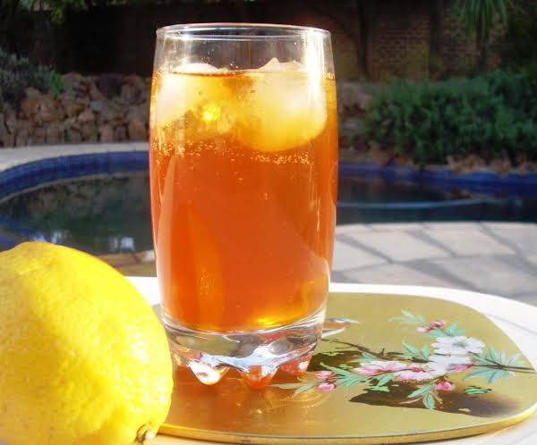 Lemon Ginger Iced Green Tea Recipe
