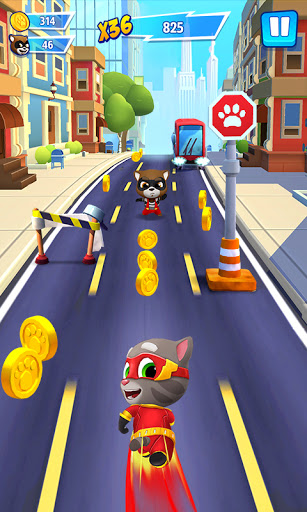 Talking Tom Hero Dash - Run Game screenshot 2