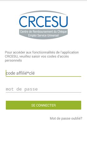 CRCESU Android App Screenshot