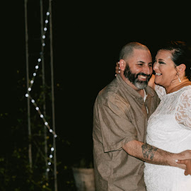 Dancing Bliss by Autumn Wright - Wedding Reception ( dancing, couple, alabama, lace, wedding )
