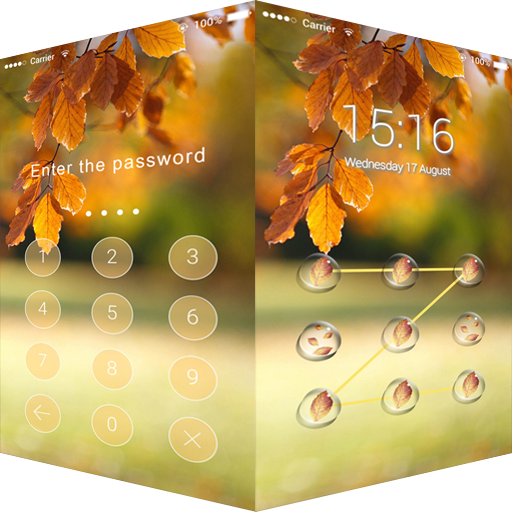 Applock Theme Autumn Aoliage 天氣 App LOGO-硬是要APP