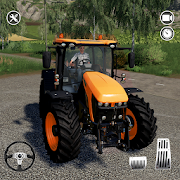Farm Tractor Driving Sim - tractor cargo transport
