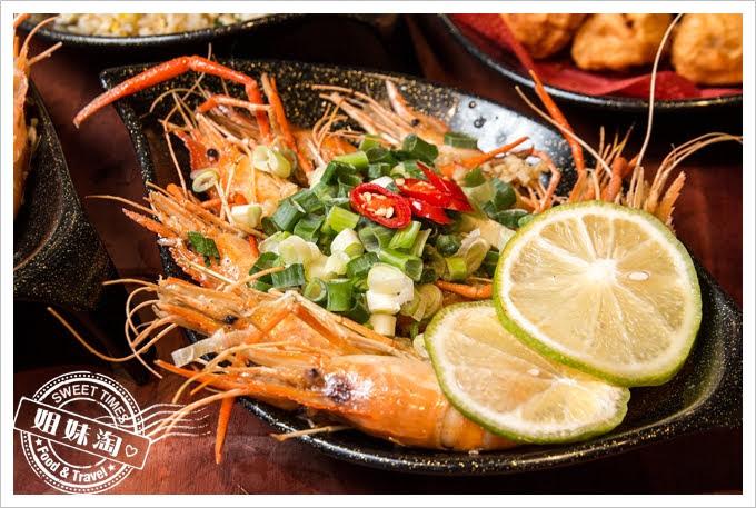 墾丁蝦匠活蝦料理檸檬蝦