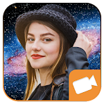Live Galaxy Photo Effect Video Maker Icon