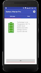 Battery Warner Pro - náhled