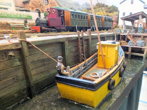 Photo: 010 The fishing vessel moored at Crackington Quay is particularly attractive in my own opinion .