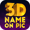 3D Name on Pics - 3D Text APK Icon