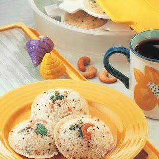 Quick Rava Idli ( South Indian Recipes).
