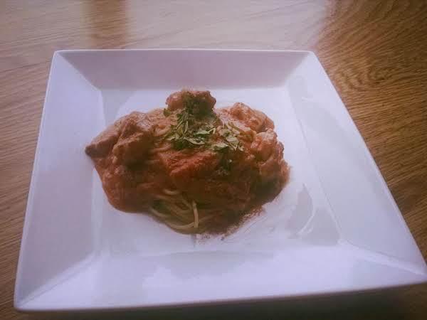 Easy Chicken Tikka Masala With Pasta Recipe