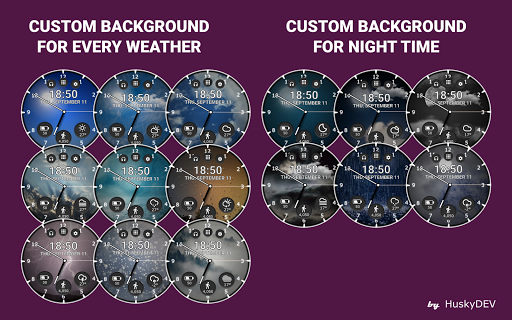 Real Weather Watch Face Reborn for PC