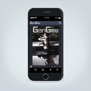 GanGee Magazine - náhled
