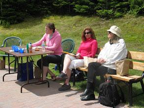 Photo: Jayne, Heather, Mrs Elliott