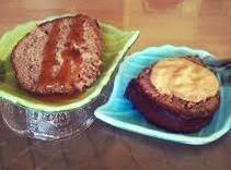 Applesauce Walnut Cake W/pumpkin Mousse Topping Recipe