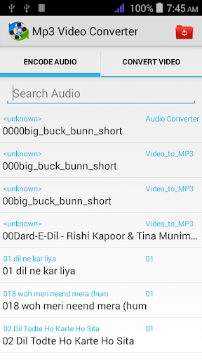 Audio Extract- Mp3 Converter