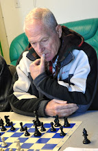 Photo: Eugeniu Televco (Board #8 of Chigorin Chess Club)