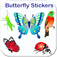 Butterfly stickers for whatsapp - WAStickerApps