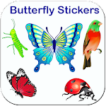 Butterfly stickers for whatsapp - WAStickerApps Icon