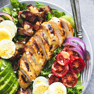 Honey Mustard Chicken Cobb Salad