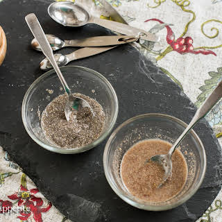 Flax and Chia Seed Eggs.