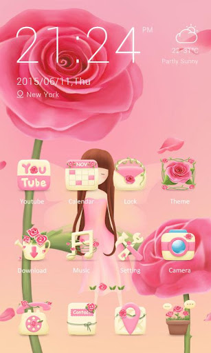 Fairy Theme - ZERO Launcher