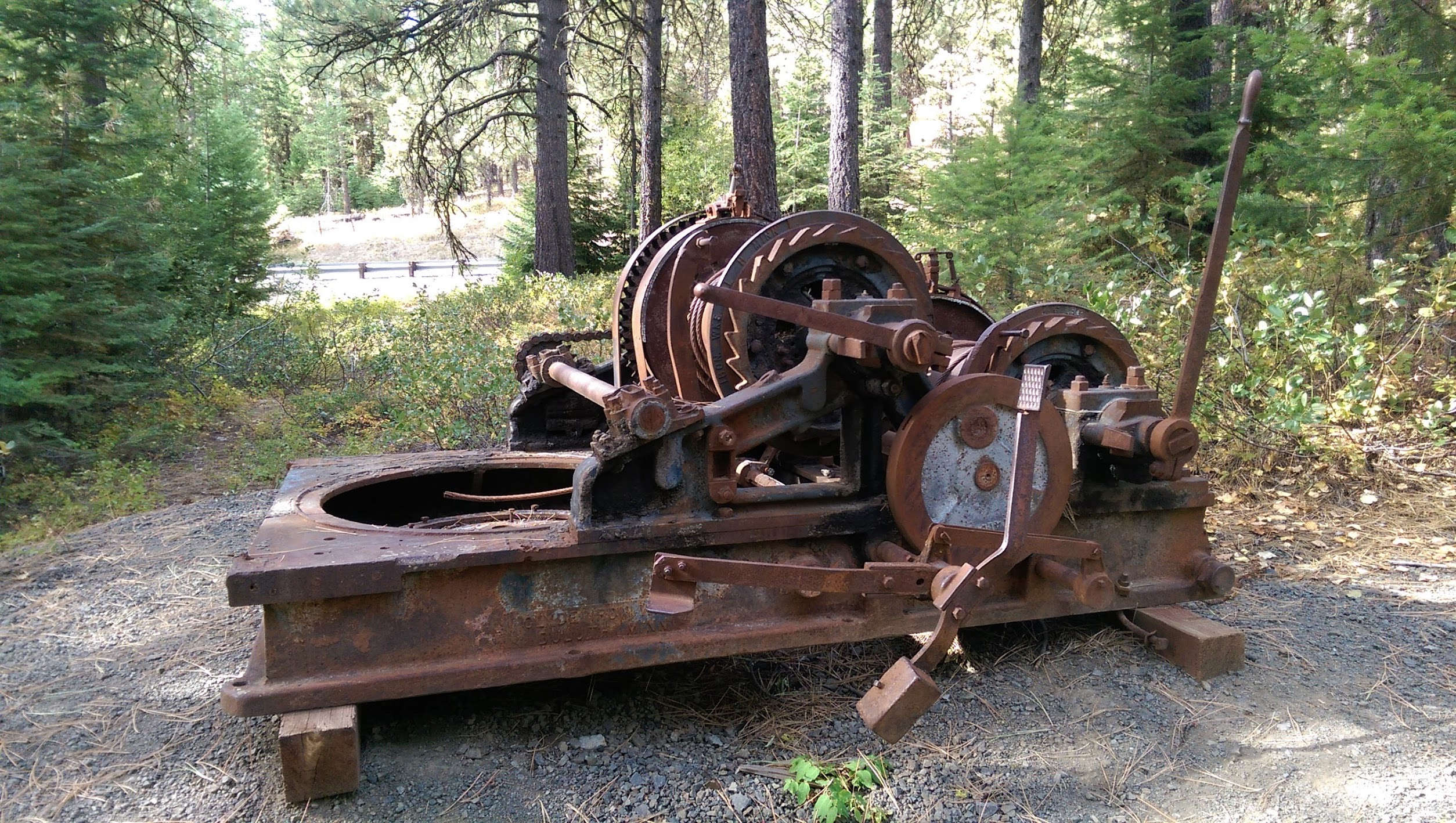 Machinery in the Woods