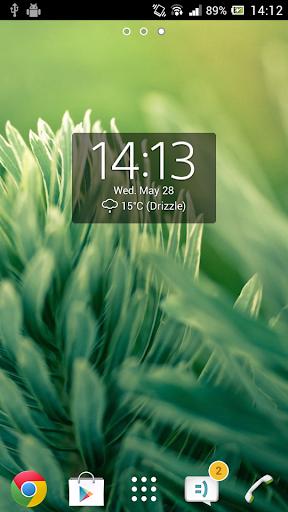 Download Digital Clock Widget Xperia APK Full | ApksFULL com