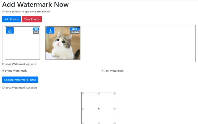 Add Watermark to Photos in Google Chrome™