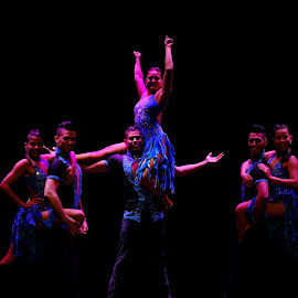The Dance by Beh Heng Long - People Musicians & Entertainers ( dancer )