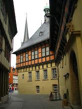 Photo: Okna historycznej sali obrad Ratusza w Wernigerode