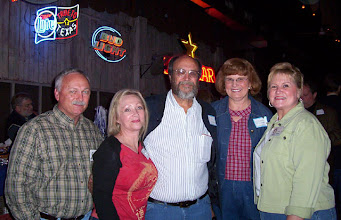 Photo: Wayne Thompson, Suzy (Wright) Thomas, Eric Haecker, Roberta Haecker, Rita (Leeper) Sholund