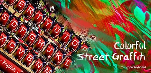 Red Graffiti Keyboard Theme Aplikacie V Sluzbe Google Play