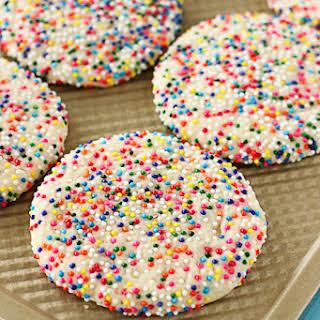 Sprinkled Sugar Cookies.