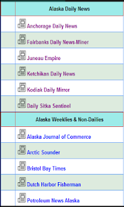 Alaska News screenshot 1