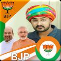 BJP Photo Frames, Video Status, Wallpaper, Quotes icon