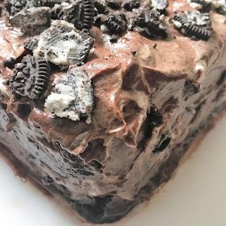 Chocolate Oreo Overload Cake.