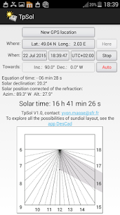 TpSol - your solar time- screenshot thumbnail