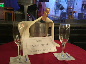 Photo: For our final night's Tango show, we got the VIP treatment