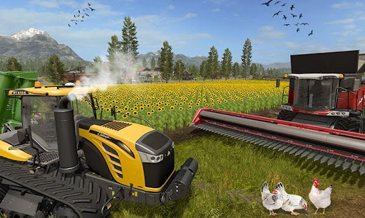 Code Triche Khakassia Organic Tractor Farming Simulator 2019 mod apk screenshots 3