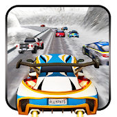 Winter Snow Car Rally Racing