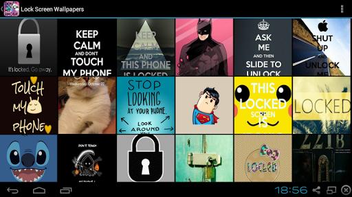 Lock Screen Wallpapers Screenshot