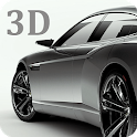 Racing Car Driving 3D icon